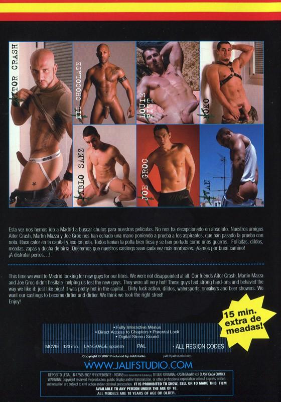 Casting Madrid Vol. 2 DVD - Back