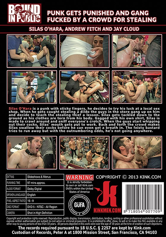 Bound In Public 43 DVD (S) - Back