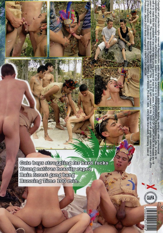 Jungle Force DVD - Back