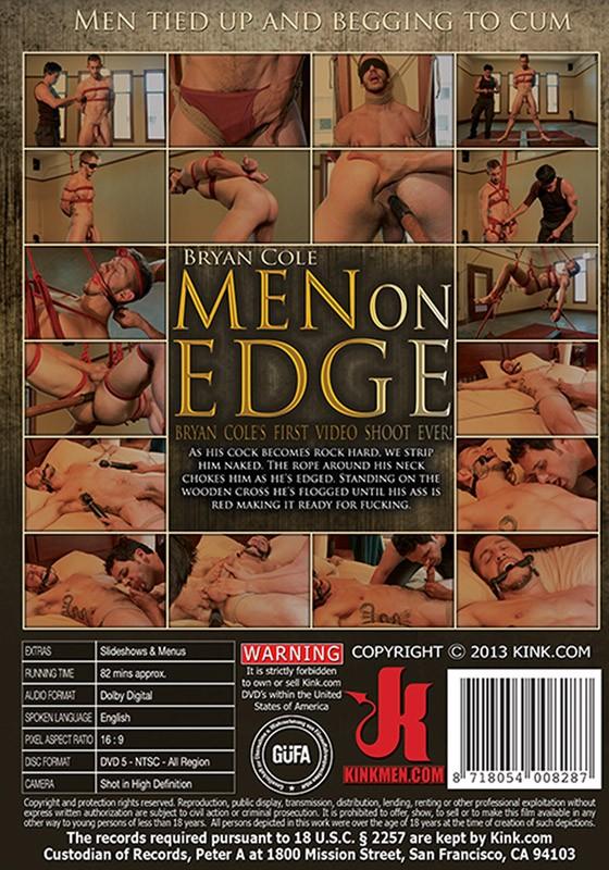 Men On Edge 12 DVD (S) - Back