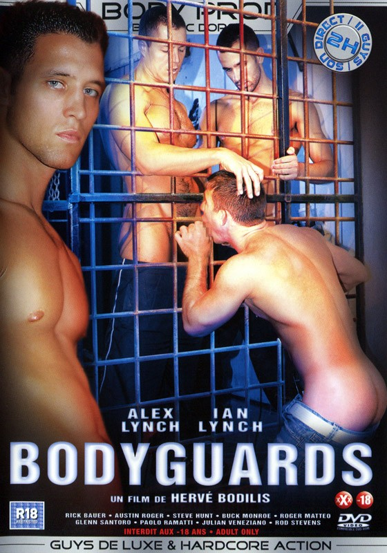 Bodyguards DVD - Front