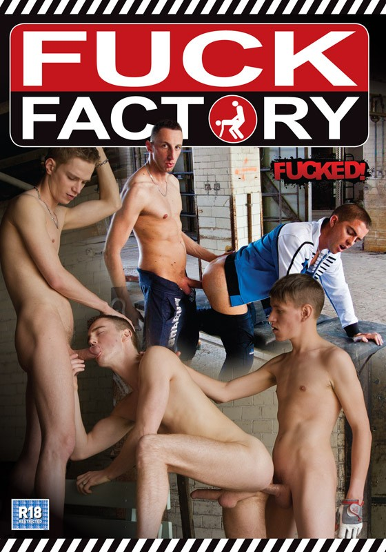 Fuck Factory DVD - Front