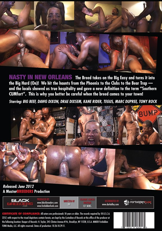 Nasty In New Orleans DVD - Back