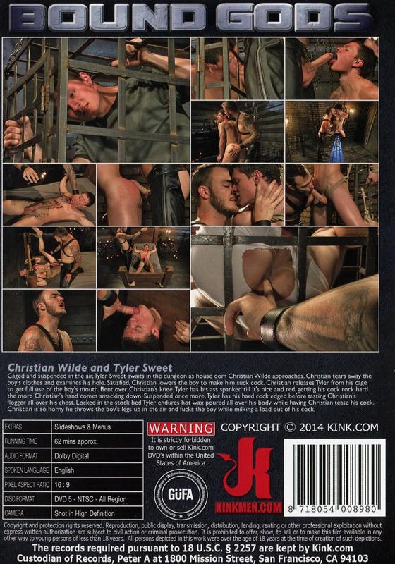 Bound Gods 38 DVD (S) - Back