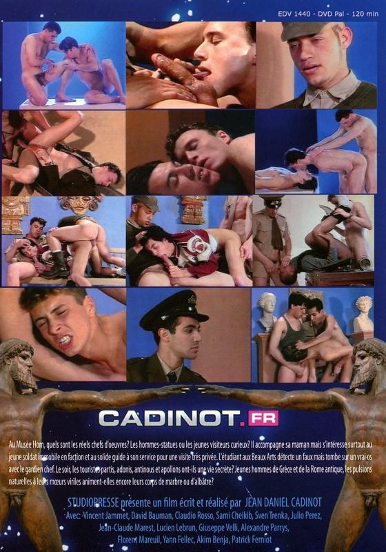 Musée Hom DVD - Back