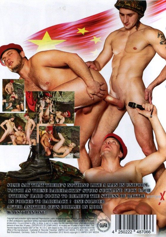 Forced to Bareback DVD - Back