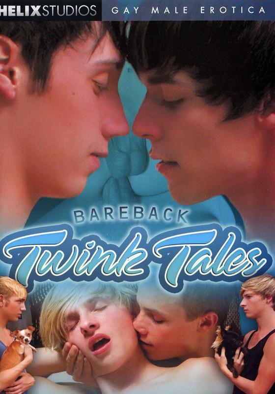 Bareback Twink Tales DVD - Front