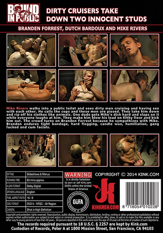 Bound In Public 55 DVD (S) - Back
