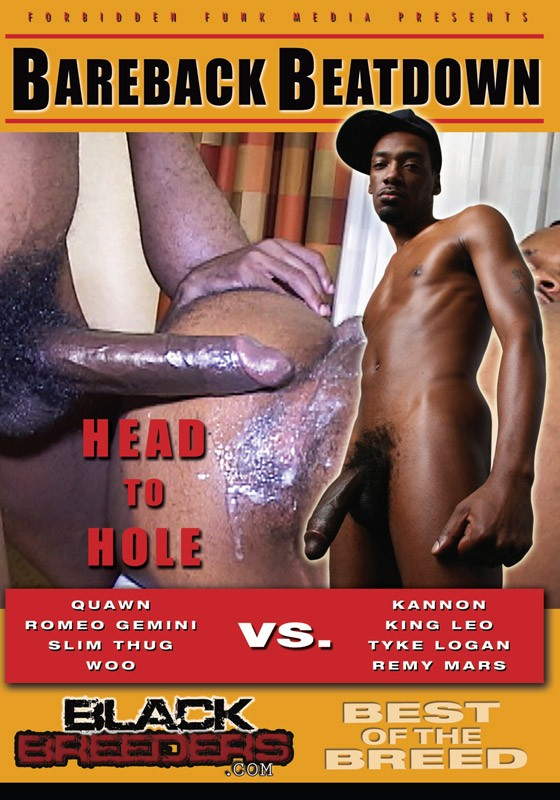 Bareback Beatdown DVD - Front