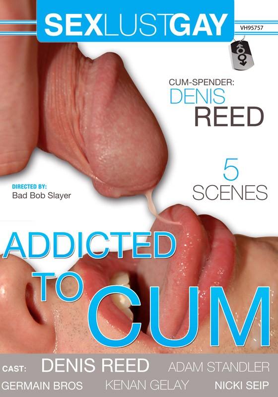 Addicted To Cum DVD - Front