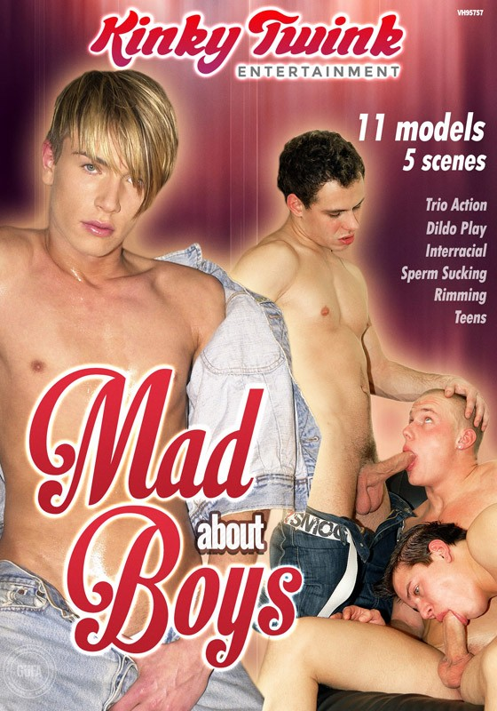 Mad About Boys DVD - Front