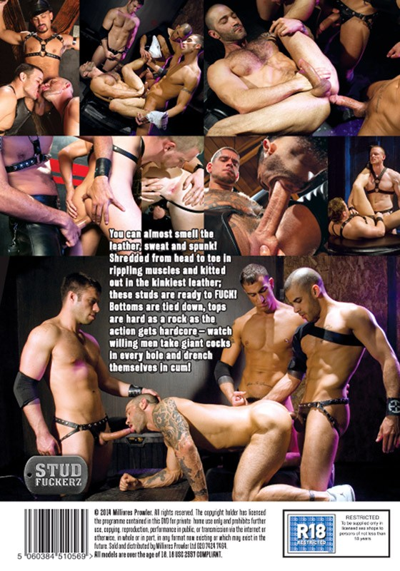 Leather Muscle DVD - Back