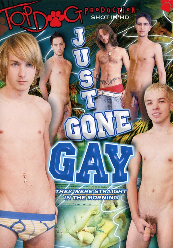 Just Gone Gay DVD - Front