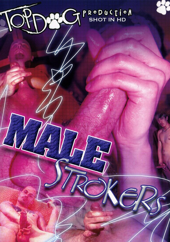 Male Strokers DVD - Front