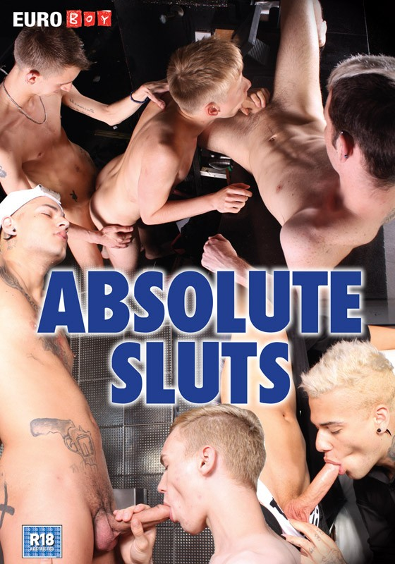 Absolute Sluts DVD - Front