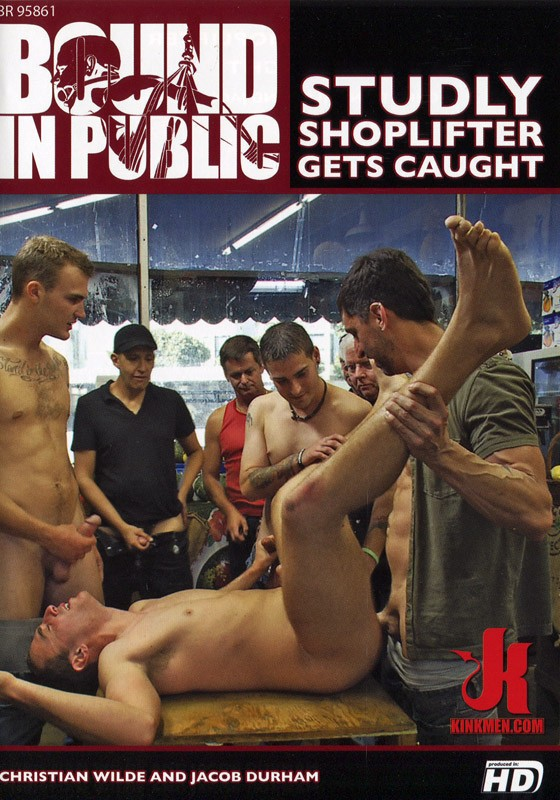 Bound In Public 63 DVD (S) - Front