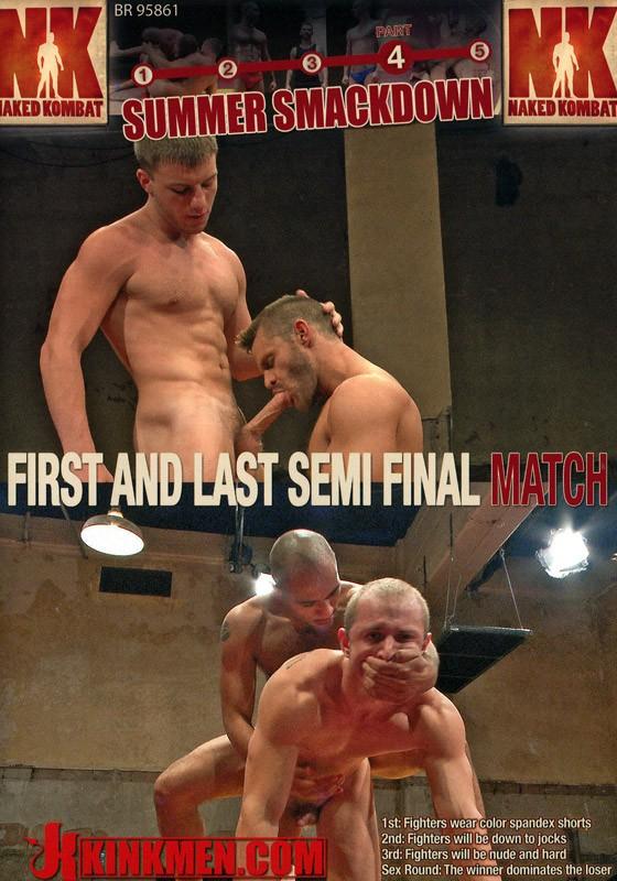 Naked Kombat 35 DVD (S) - Front