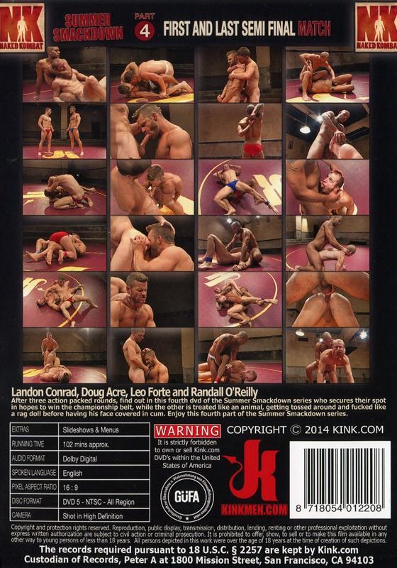 Naked Kombat 35 DVD (S) - Back