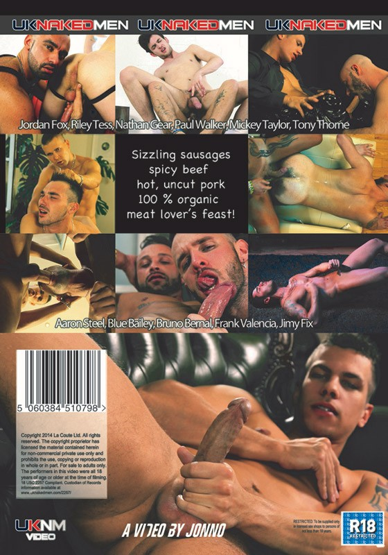 Meet The Meat DVD - Back