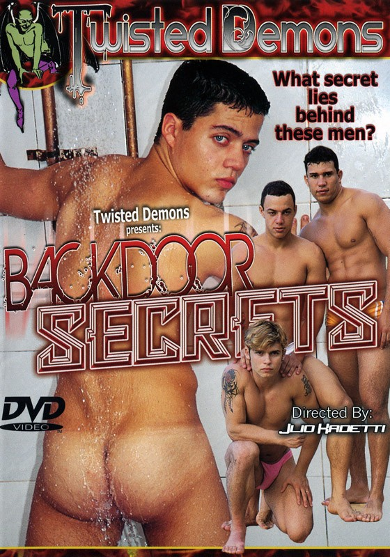 Backdoor Secrets DVD - Front