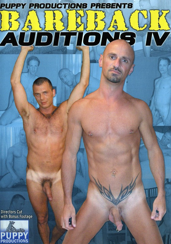 Bareback Auditions 4 DVD - Front