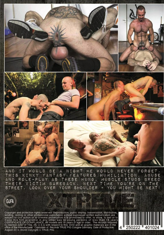 Xtreme (True Pig) DVD - Back