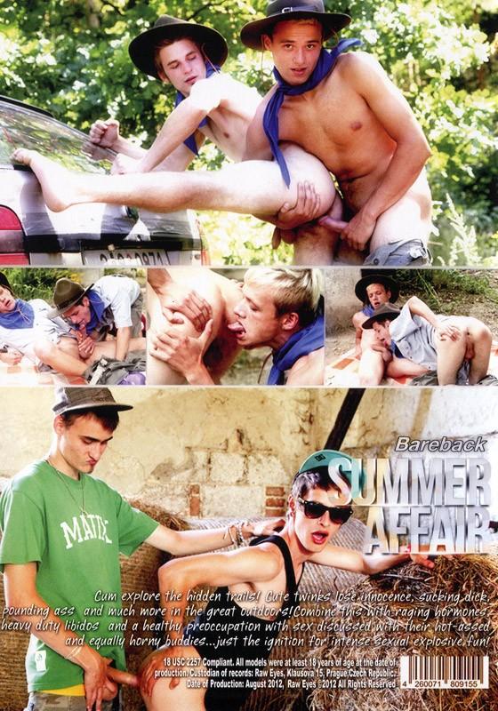 Bareback Summer Affair DVD - Back