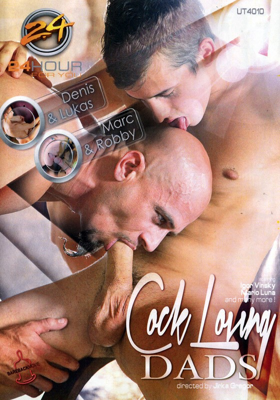 Cock Lovin' Dads DVD - Front