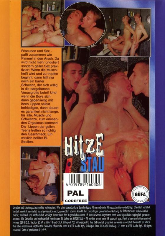 Hitzestau DVD - Back