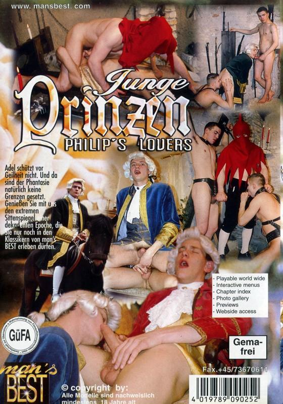 Junge Prinzen - Philip's Lovers DVD - Back