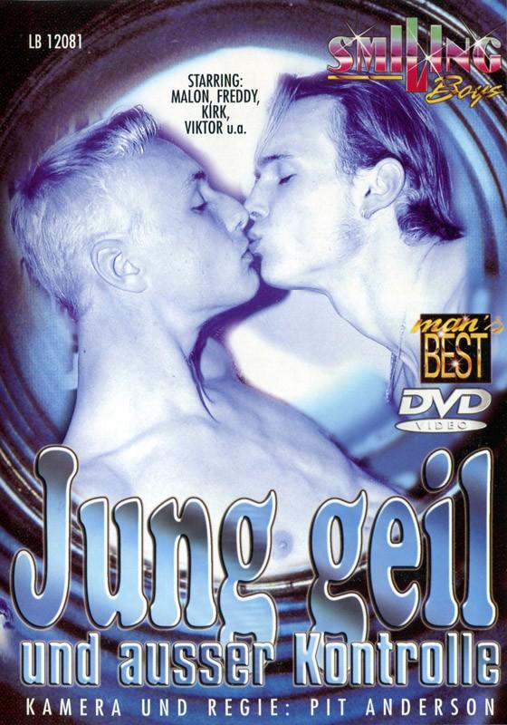 Jung geil und ausser Kontrolle DVD - Front