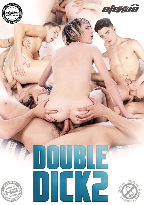 Double Dick 2 DVD - Front