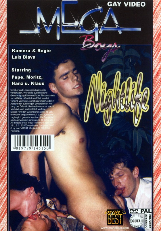 Brünner Jungs - Nightlife DVD - Back