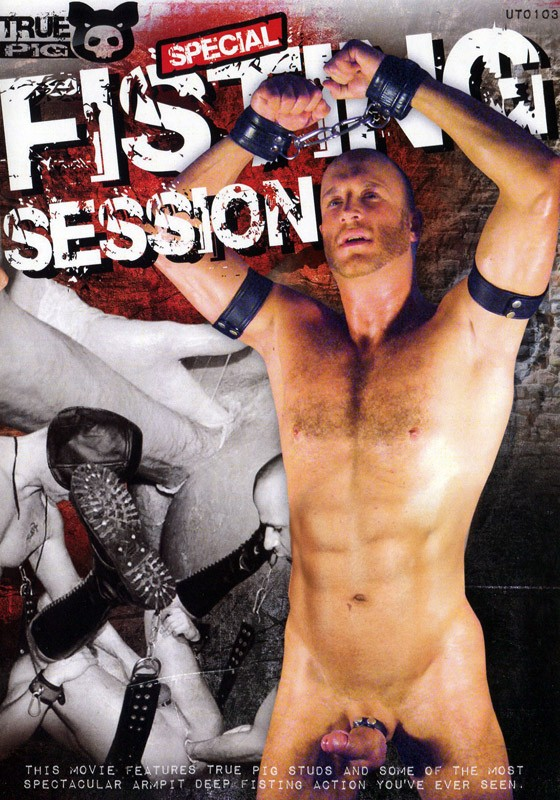 Fisting Session DVD - Front