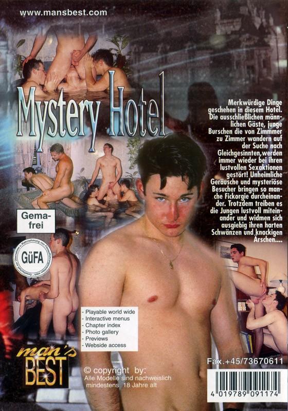 Mystery Hotel DVD - Back