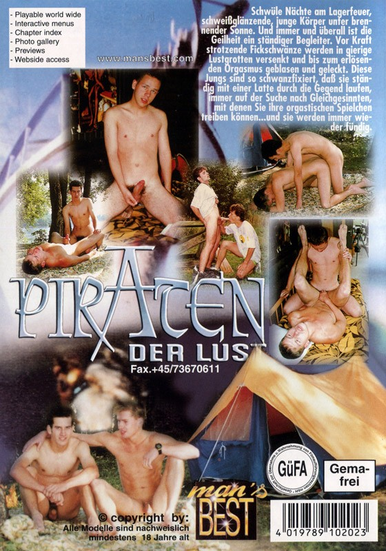 Piraten Der Lust DVD - Back