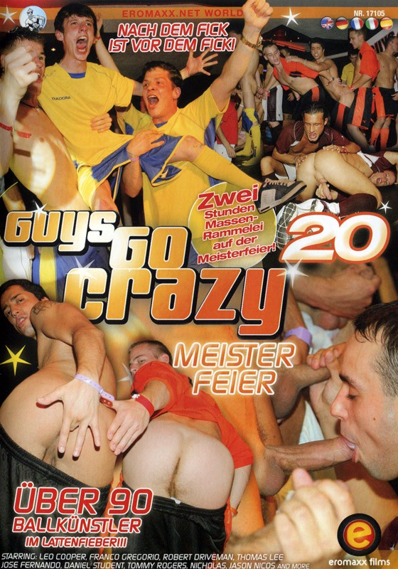 Guys Go Crazy 20: Cock Rally DVD - Front