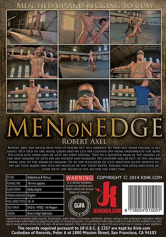 Men On Edge 24 DVD (S) - Back