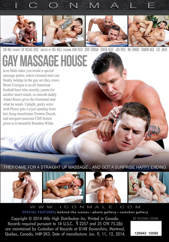 Gay Massage House DVD - Back