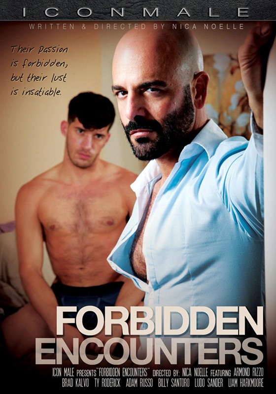 Forbidden Encounters DVD - Front