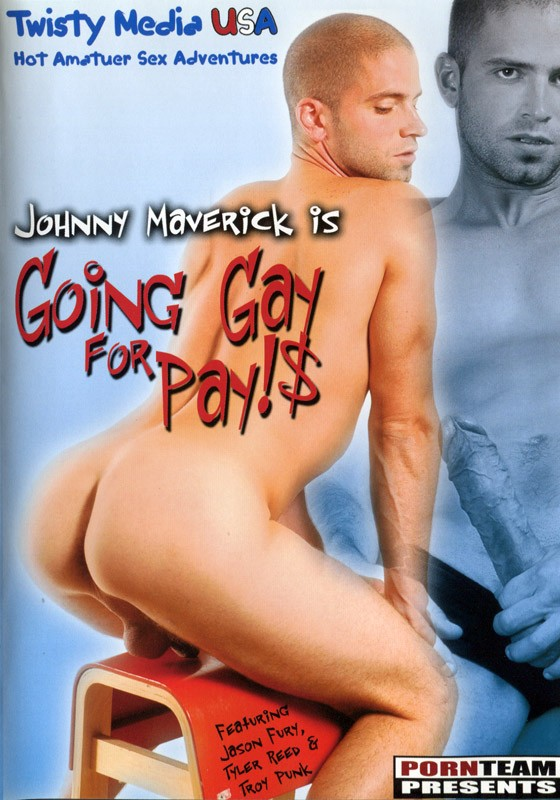 Going Gay For Pay!$ DVD - Front