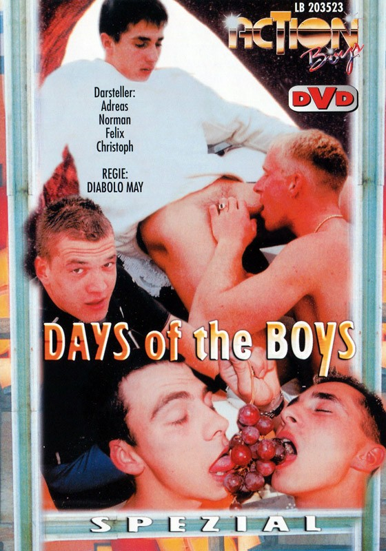 Days Of The Boys DVD - Front