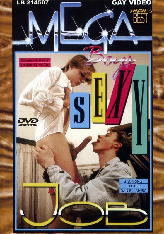 Massage Boys & Sexy Job DVD - Front
