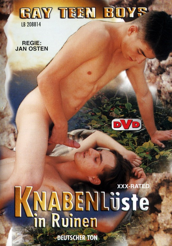 Knabenluste in Ruinen DVD - Front