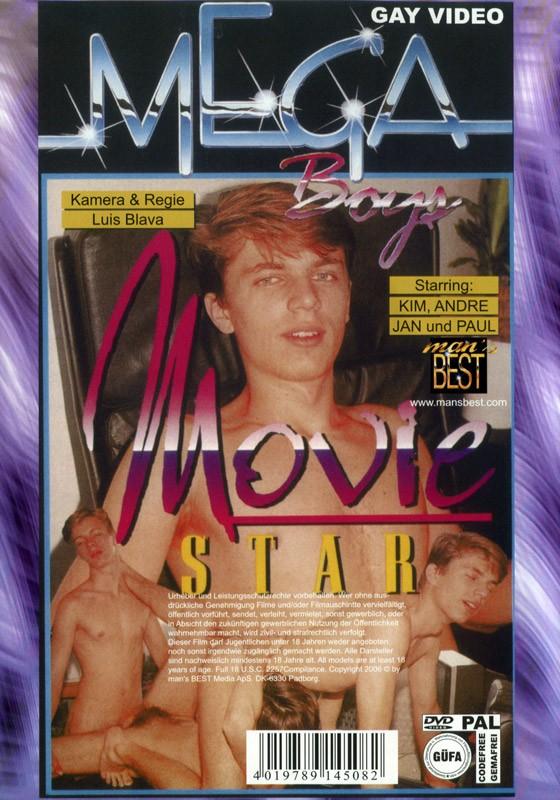 Movie Star und Porno Freunde DVD - Back