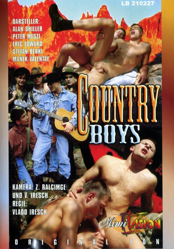 Country Boys DVD - Front