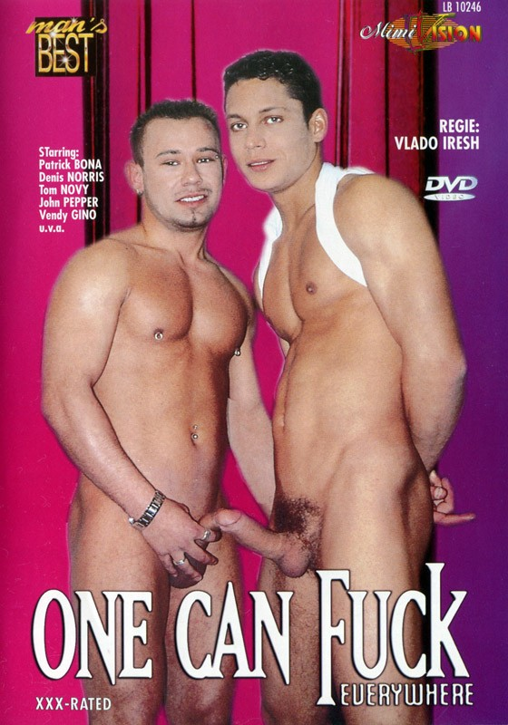 One Can Fuck Everywhere DVD - Front