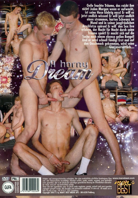 A Horny Dream DVD - Back