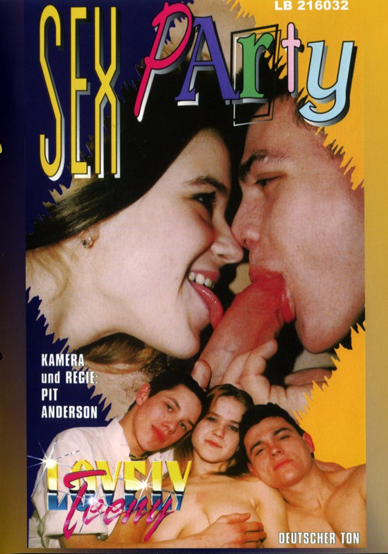 Sex Party DVD - Front
