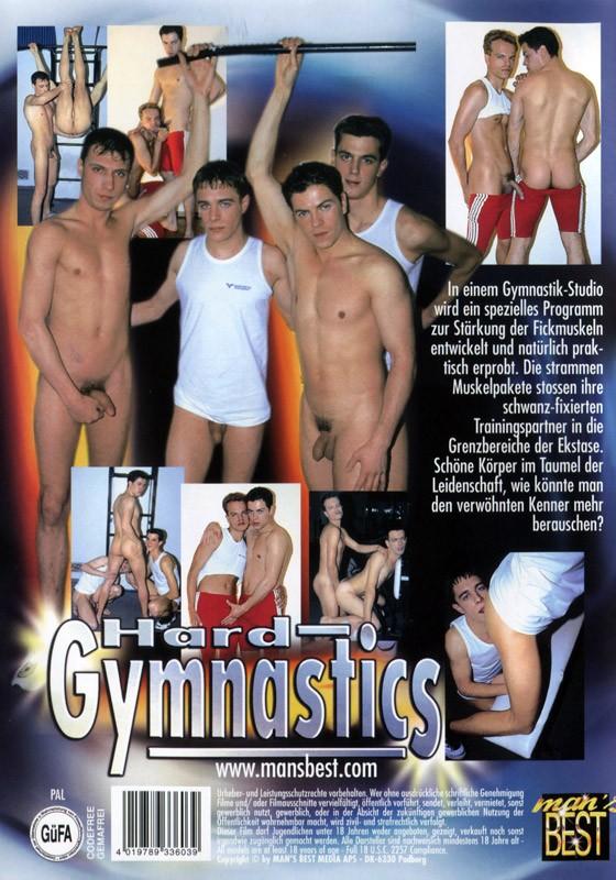 Hard Gymnastics DVD - Back